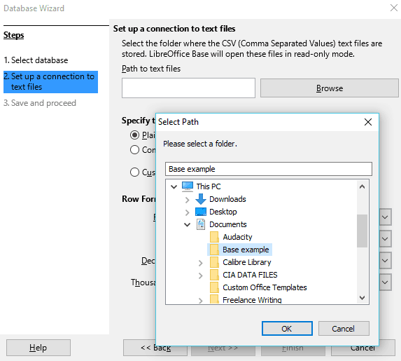 14 Set Up Connection To Text File