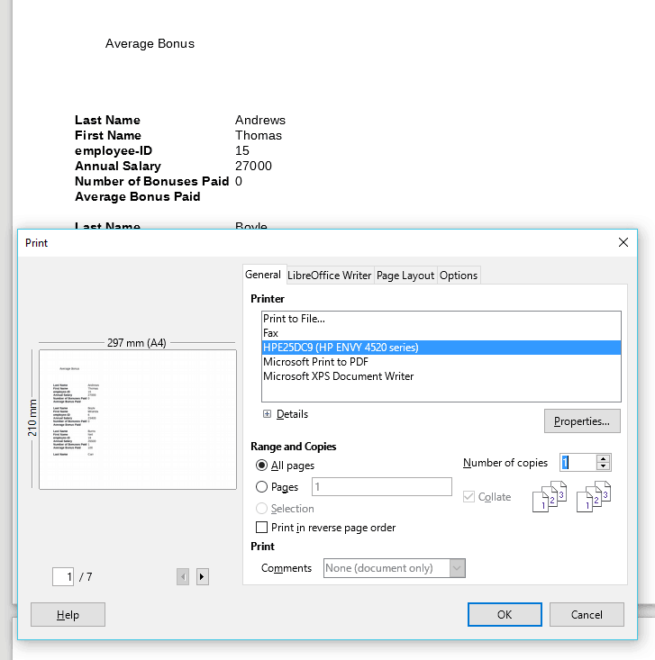 5 Print Specific Pages
