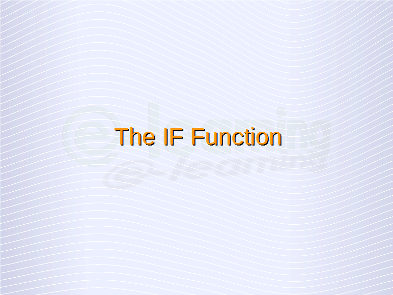 IF Function (1)