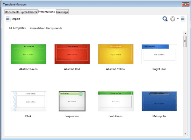 Template Manager 10
